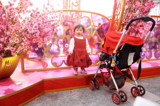 Children get dressed up for Chinese New Year