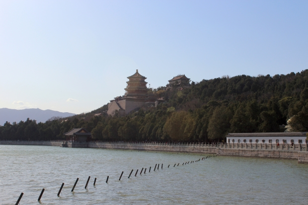 Longevity Hill and Kunming Lake in the afternoon sun