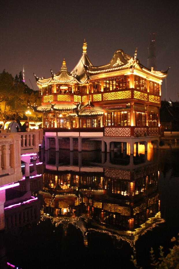 Huxinting Teahouse, Yu Yuan Garden, Shanghai