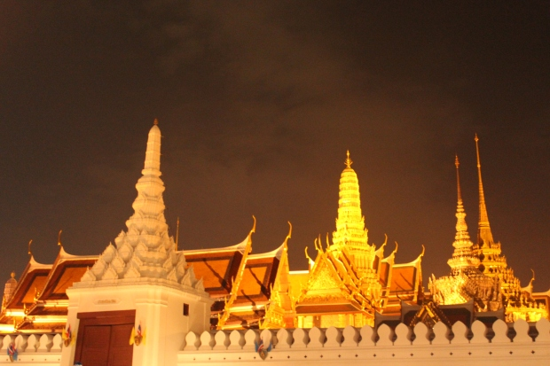 Illuminated Wat Phra Kaeo